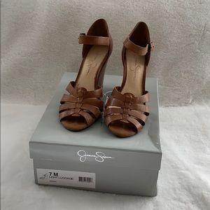 Jessica Simpson Tan Sandals 7